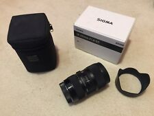 Sigma DC 18-35mm F/1.8 HSM DC Lens CANON