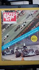 AUTOSPRINT 1973 n.37 Alfa e Gulf Mirage  Formula Renault  il Mugello Lele Pinto
