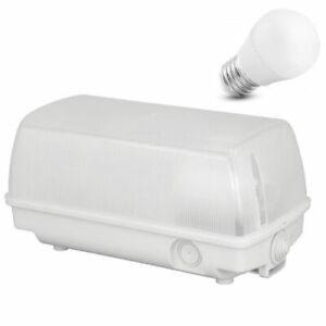 Aussenlampe Hoflampe IP44 IP54 Deckenleuchte Kellerlampe Feuchtraum Deckenlampe