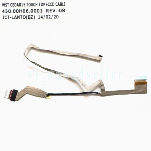 LCD Video Cable For DELL 3542 3541 3543 3549 3546 TOUCH 0H1RV6 450.00H06.0011