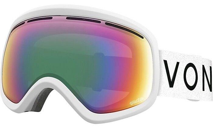 NEW  VonZipper Skylab White Wildlife Mens Ski Snowboard Goggles +lens Msrp 170  up to 65% off