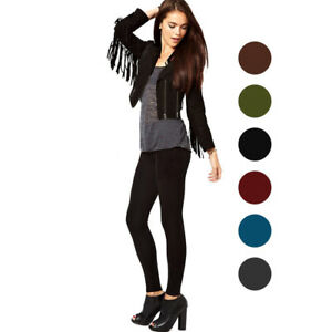 Nicole Miller Fleece Lined Footless Tights - Available in 6 Colors