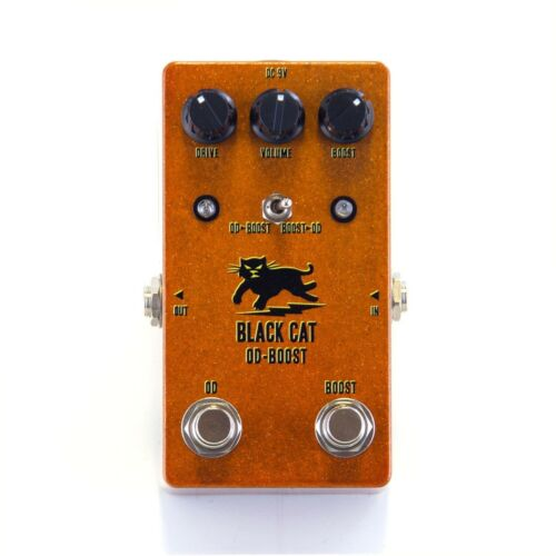 New! Black Cat guitar effects pedals OD-Boost boutique Fuzz Overdrive Booster