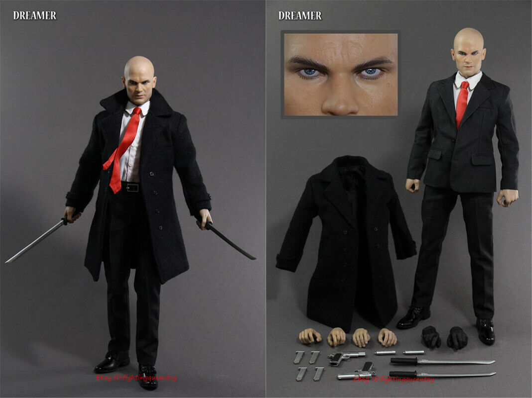 Dreamer Toys Hitman Agent 47 1 6 Scale Action Figure Model Instock For Sale Online