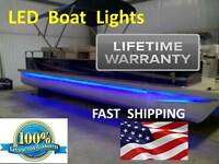 Under Floor Pontoon Boat Led Light Kit Universal Lighting Part Fits Any Pontoon