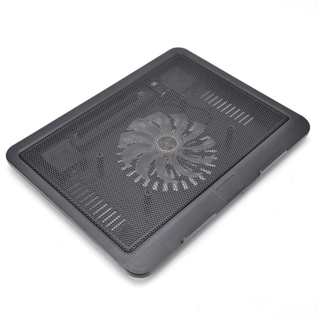 Laptop Cooler Cooling Pad Base Big Fan USB Stand for 14