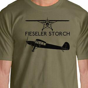 Aeroclassic Fieseler Storch  Silhouette T-Shirt