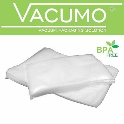 200 Vakuumbeutel 25 x 40 cm VACUMO S-VAC Vakuumfolie Vakuumierbeutel goffriert