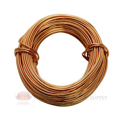 Copper Aluminum Craft Wire 18 Gauge 39 Feet 11.8 Meters Wrapping Sculpture
