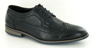 Herren Schwarz Farbe schnürbar Brogues Schuhe formelle/Freizeit a2126
