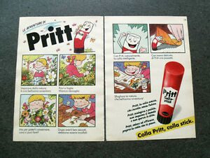 I443-Advertising-Pubblicita-1989-LE-AVVENTURE-DI-PRITT-COLLA-STICK