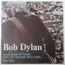 "Bob Dylan Stuck Inside Of Mobile With The Memphis Blues Again Single 7"" Italia"