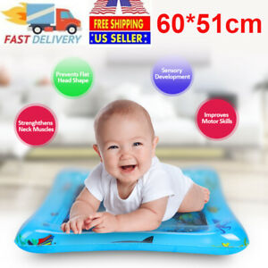 Tummy-Time-Water-Mat-Baby-Toys-3-6-9-12-Months-Old-Infants-Funny-20X24-Inches