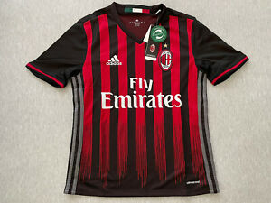 Limited time PT 5 times New Adidas Youth Large AC Milan Jersey ...