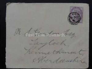 1897 Reine Victoria 1D lilas TIMBRE sur ENVELOPPE envoyé à Tay Loch l'Aberdeenshire-afficher le titre d`origine O8ZIfR1H-07165122-260343926