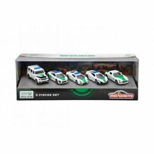 MAJORETTE-Souvenir-Dubai-police-super-cars-MERCEDES-AUDI-gift-5-pieces-set