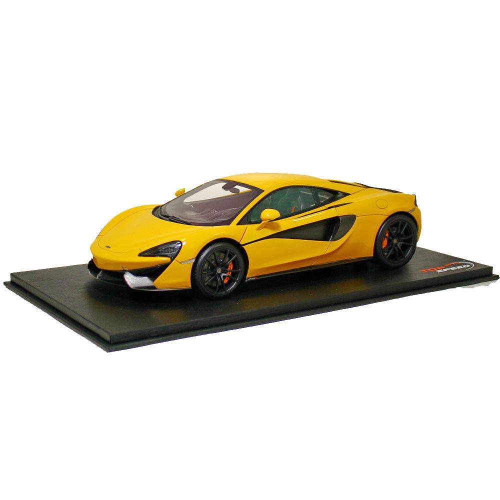 Top Speed McLaren 570S Volcano Yellow 1 18 New Item NICE