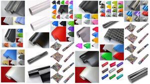 50-m-NEOXXIM-Autofolien-MUSTER-3D-4D-5D-Carbon-Glanz-Matt-Chrom-Gebuerstet