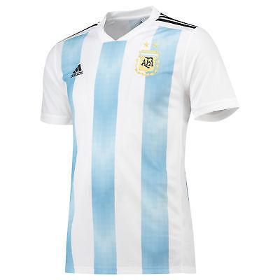 Ufficiale Argentina Football Home Jersey Shirt Tee Top 2018 Da Uomo Adidas-mostra Il Titolo Originale