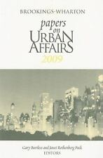 NEW - Brookings-Wharton Papers on Urban Affairs: 2009