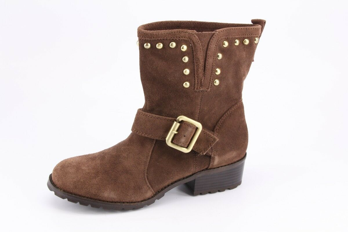 NEW INC International Concepts Henry Nutmeg Suede Short Boots sz 8 Booties