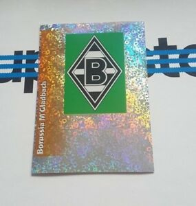 Panini-Bundesliga-1996-Sticker-109-Borussia-Moenchengladbach-Wappen-Glitzer-96