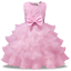 Vestito-Damigella-Cerimonia-Abito-Bambina-Girl-Party-Bridesmaid-Dress-CDR086 miniatura 14