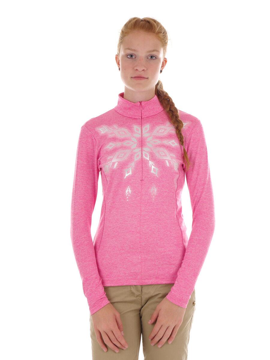 CMP Sweatpul r Sweater WOMAN  SWEAT pink atmungsaktiv wärmend  is discounted