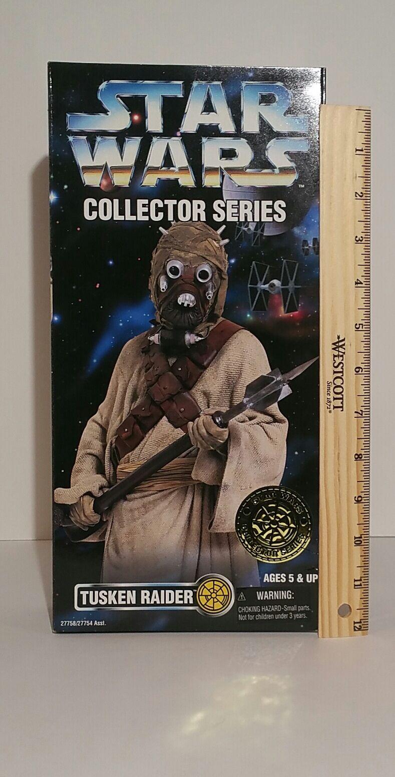 Star Wars Tuskin Raider Collector series MINT 12  1996 MIB
