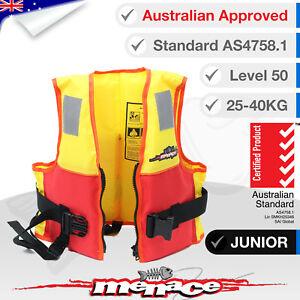 JUNIOR-Life-Jacket-PFD-Water-Jet-Ski-Foam-Lifejacket-Kids-Child-Type-2-Level-L50