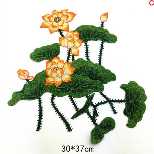 DIY Blume Stickerei Kragen Applique Annähen Patch Büste Kleid-Cheongsam-pro L6I5