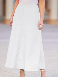 20 Marisota Women/'s Plus Size Stone Linen Blend Skirt-Size 12,14,16,18 26 22