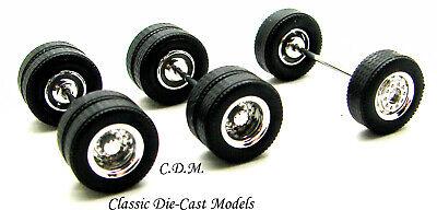 10 All Terrain Tread Rubber Truck Tires HO 1//87 Scale Herpa//Promotex 5502-10
