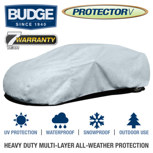 Breathable Budge Protector V Car Cover Fits Lincoln Continental 1976|Waterproof