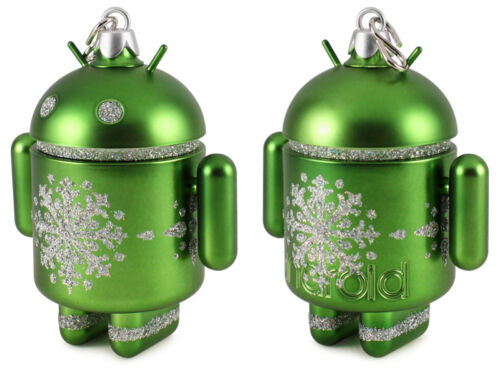 Christmas/&New Year Ornament by ANDREW BELL ACTION FIGURE ANDROID MINI GREEN