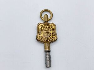 ANTIQUE ADVERTISING CHARLES AND CO RANELACH ST LIVERPOOL POCKET WATCH KEY WINDER