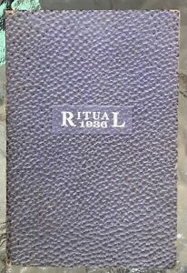 1936 NATIONAL WOMAN'S RELIEF CORPS RITUAL GAR Grand Army of The Republic WOMEN