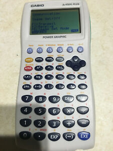Casio fx 9750g plus graphic calculator.