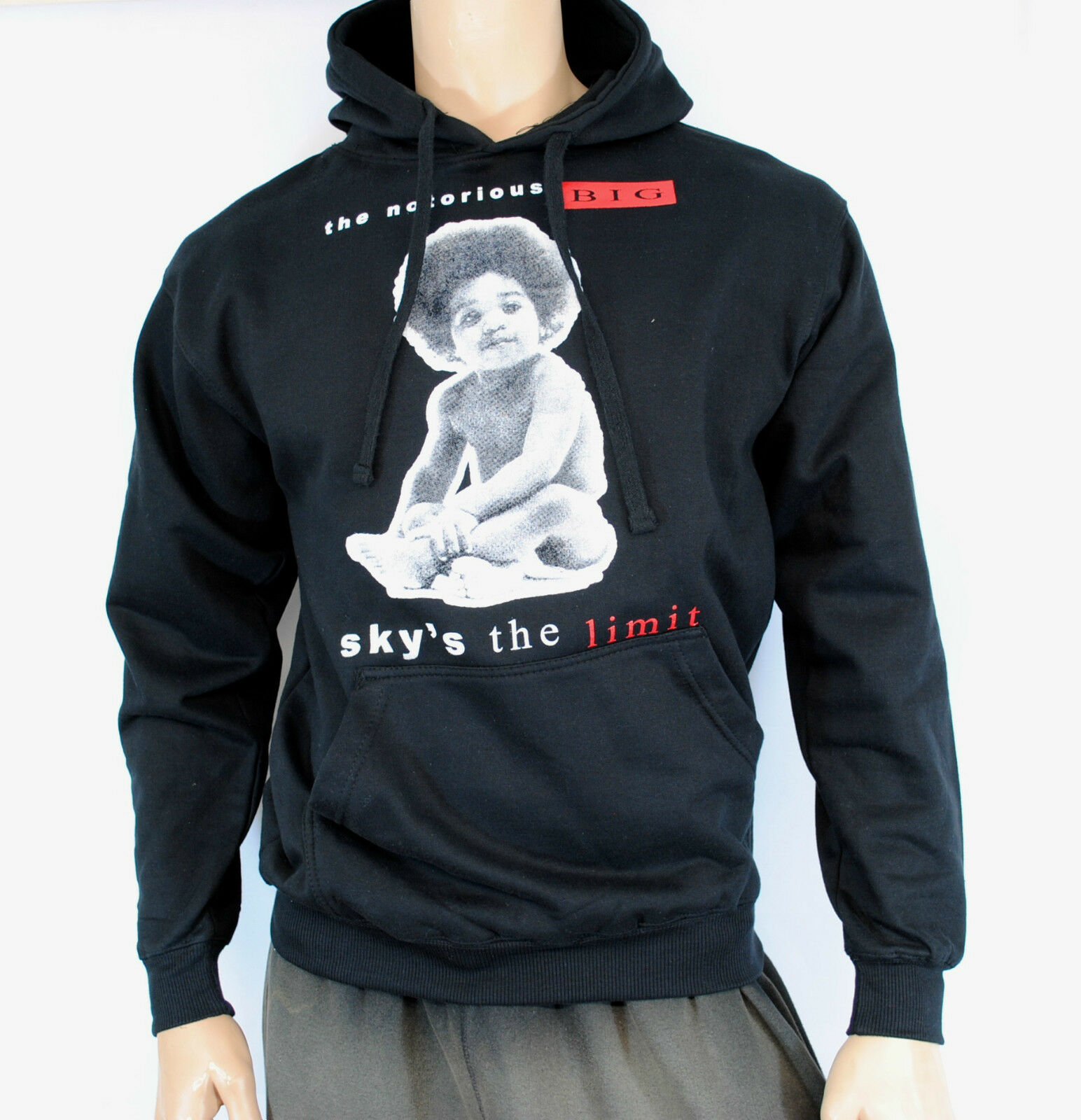 Notorious B.I.G. Hoodie Sweatshirt Sky's the Limit Men's