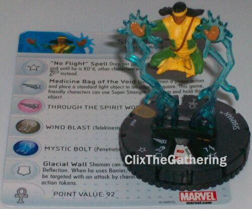 SHAMAN #040 #40 The Invincible Iron Man Marvel Heroclix Super Rare