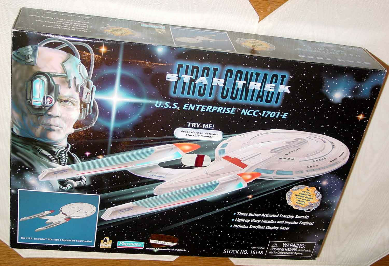 STAR TREK FIRST CONTACT ELECTRONIC ENTERPRISE E
