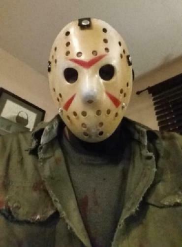 Halloween Jason.Friday The 13th Halloween Hockey Mask Jason Vs Freddy Costume Movie For Sale Online Ebay