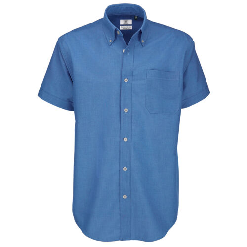 Mens Shirts BC106 B/&C Mens Oxford Short Sleeve Shirt
