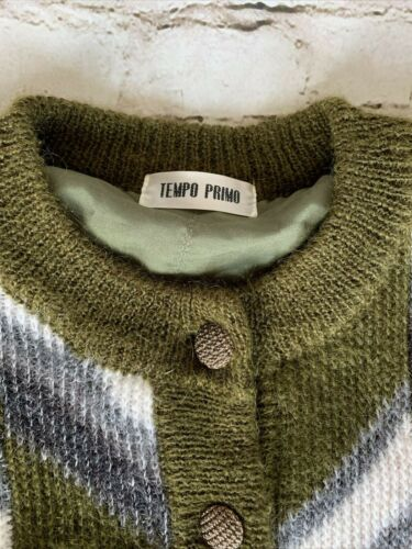 Tempo Primo Vintage Cardigan Hipster Rare Olive Iv
