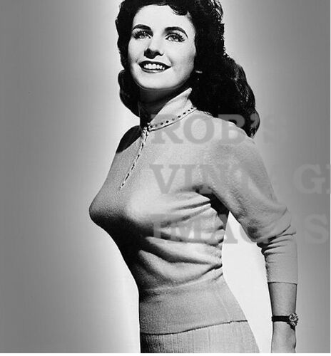 "Marion Schilling BULLET BRA MAMA photo Retro 1940/'s 1950/'s Sweater Gal 8/"" X 10/"""