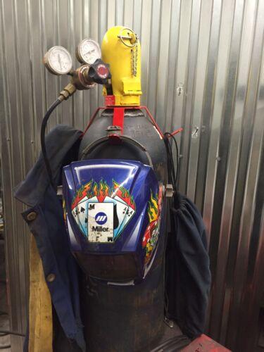 Miller Black Digital Elite Auto Darkening Welding Helmet Welding Tank Holder