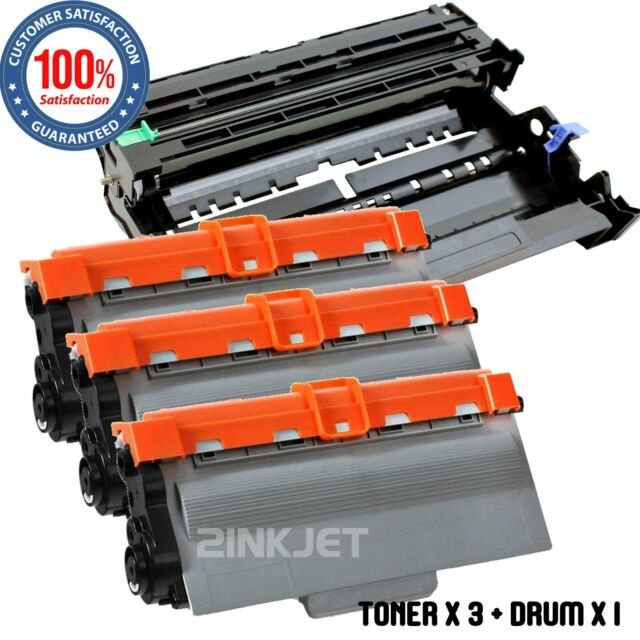 3PK TN750 Toner For Brother DCP-8250DN MFC-8710DW MFC-8810DW 1PK DR720 Drum