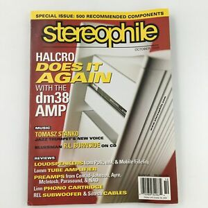Stereophile Magazine October 2004 Jazz Trumpet Tomasz Stanko Feature, Newsstand