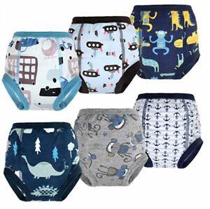 6 x Mutandine riutilizzabili per apprendimento bambini 2 - 5, Pannolini lavabili
