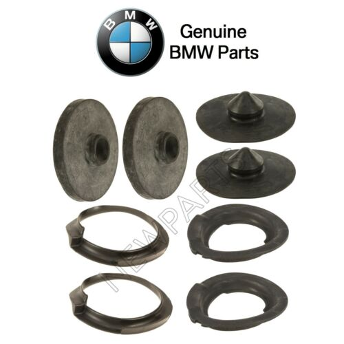 For BMW E46 325Xi 330Xi Front /& Rear Upper /& Lower Coil Spring Pads KIT Genuine